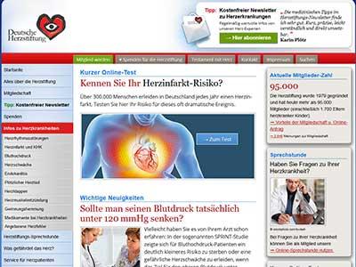 Deutsche Herzstiftung - Herz-und Kreislauferkrankungen
